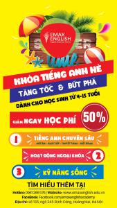 KHÓA TIẾNG ANH HÈ