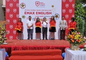 Tưng bừng khai trương chi nhánh Emax English Long Biên